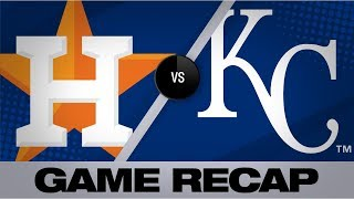 Greinke, Alvarez carry Astros in 6-1 win   Astros-Royals Game Highlights 9/14/19