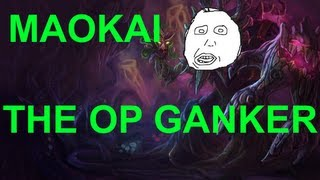 video Maokai is a good ganker feat. Manly laugh