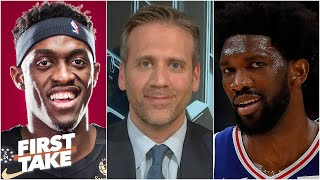 Max Kellerman takes the 76ers over the Raptors as the Bucks' biggest threat in the East | First Take
