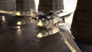 Build To Help: Blue Squadron - LEGO Star Wars - Mini Movie
