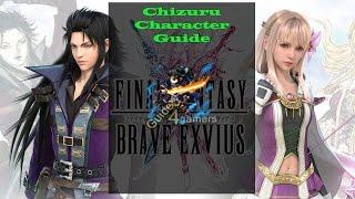 Final Fantasy Brave Exvius Characters Guide: Chizuru (#13)