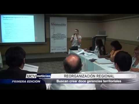 Buscan crear doce gerencias territoriales [VIDEO]