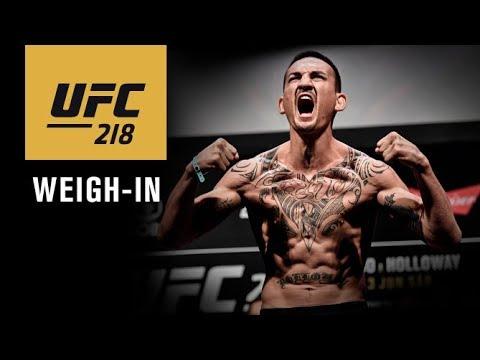 """Oficjalne ważenie przed UFC 218: """"Holloway vs Aldo 2"""" – na żywo w MMAnews o północy"""