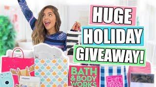 Huge Christmas GIVEAWAY! Holiday Gift Guide + Haul 2017