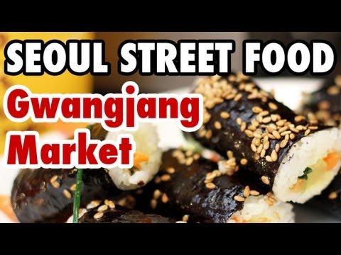 Seoul Street Food at Gwangjang Market