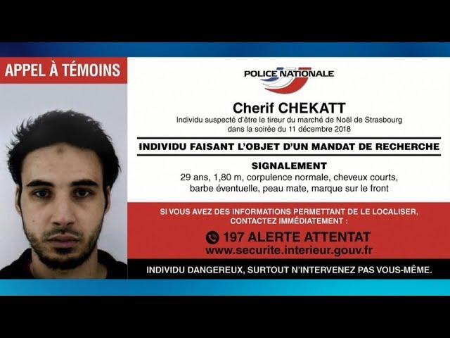 法耶誕市集槍擊嫌犯被擊斃 IS宣稱犯案