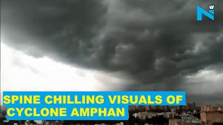 Dramatic, scary visuals of Cyclone Amphan that will send c..