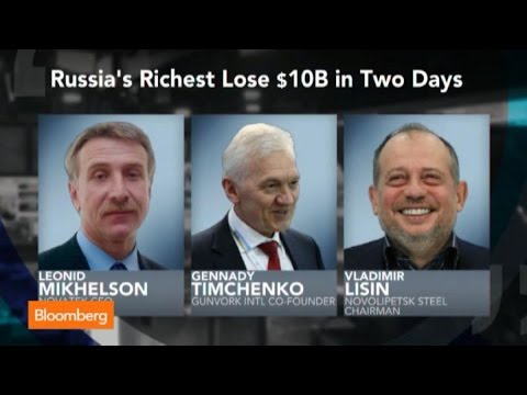 Rough week for Russian Billionaires