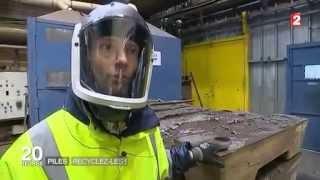 Reportage sur le recyclage des piles en France