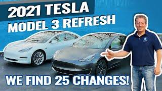 2021 Tesla Model 3 Refresh: We Find 25 Changes!