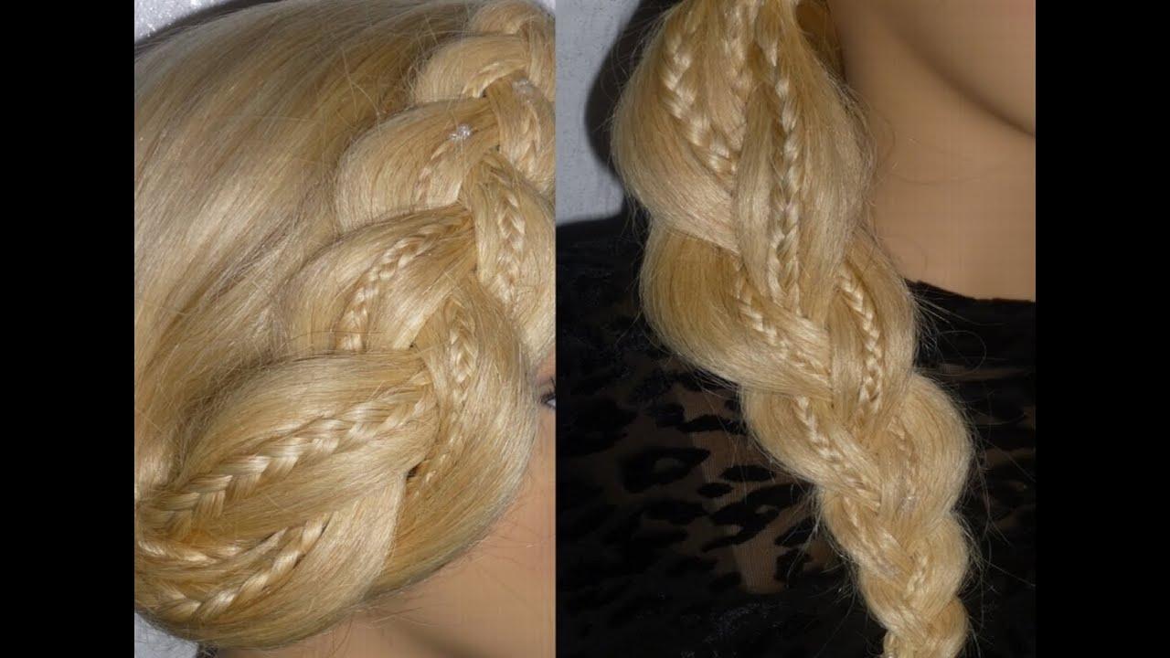 einfache frisuren schule uni alltag freizeit flechtfrisuren easy braid hairstyles peinados. Black Bedroom Furniture Sets. Home Design Ideas