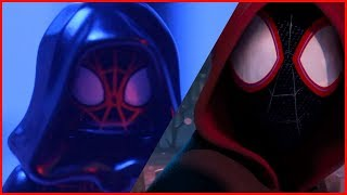 LEGO SPIDER-MAN: INTO THE SPIDER-VERSE Teaser Trailer Side by Side