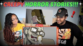 """Wansee Entertainment """"12 Horror Stories Animated (Compilation of June 2019)"""" PART 1 REACTION!!"""