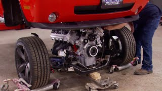 Dropping A Twin-Turbo Hemi Stroker Into A 2010 Challenger SRT8 - Detroit Muscle S3, E14