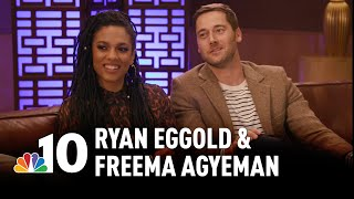 New Amsterdam's Ryan Eggold & Freema Agyeman: The Personal Toll of Acting | NBC10 Philadelphia