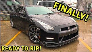 Rebuilding A Wrecked 2013 Nissan GTR Part 7
