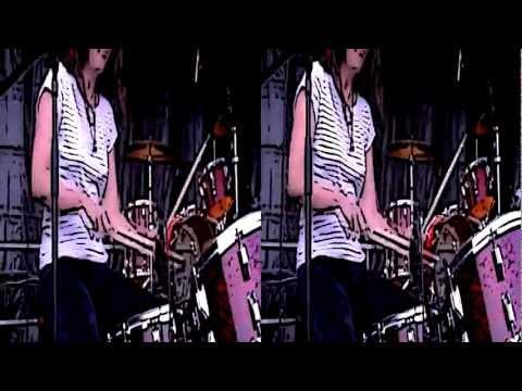 3D Live Music - Magnetix @ Binic Folk Blues Festival 2011 #01