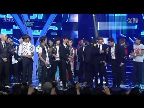 [中字] 120726 Super Junior - M! Countdown 一位受賞
