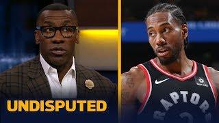 Warriors injuries make Raptors 'slight favorites' to win Finals — Shannon Sharpe | NBA | UNDISPUTED
