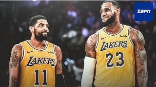 Kyrie Irving Reportedly 'More Open' to Joining LeBron James and the Lakers | NBA Free Agency 2019