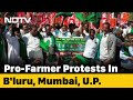Thousands March In Bengaluru To Support Farmers Demand To Scrap Laws