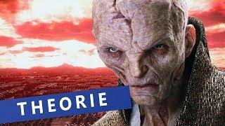 """Star Wars: Wer ist Snoke wirklich?   Die Theorie zu """"Star Wars - Die letzten Jedi"""""""