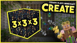 3x3x3 Mega Spawner! - Minecraft Create Mod #2