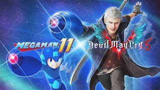 DEVIL MAY CRY 5 Mega Man Buster Weapon Trailer - Tokyo Game Show 2018