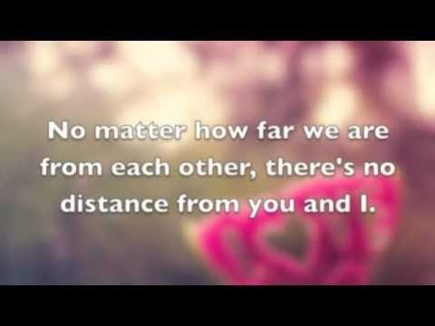 No Distance-Jason Chen Lyrics