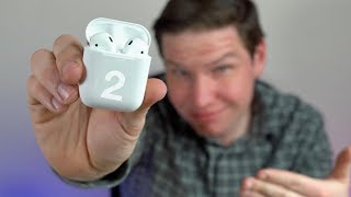 AirPods 2 Are FINALLY Here! Do They Sound Better?