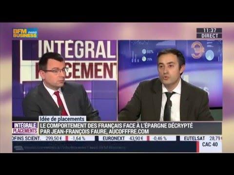 Comportement des Français face à leur épargne, Jean-François Faure sur BFM Business