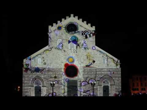 Studio Glowarp / Souvenir d'Artista#Messina / video mapping