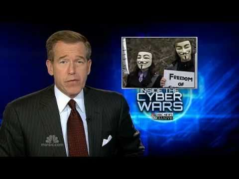 Anonymous on MSNBC 3/08/2011 WikiLeaks, HBGary, Iran Part 1 of 2