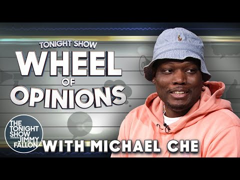 Wheel of Opinions with Michael Che | The Tonight Show Starring Jimmy Fallon