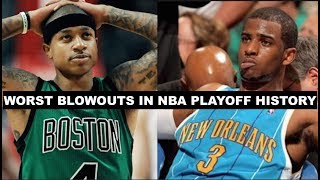The 15 Biggest Blowouts In NBA Playoff History