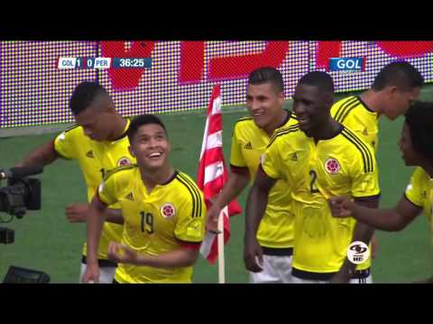 Colombia Vs Perú 2 0 Eliminatorias Rusia 2018 (Oct 8 2015) (Full HD 1080p)