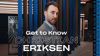 GET TO KNOW...CHRISTIAN ERIKSEN | CONTE, OASIS, DRAKE, PASTA AND MORE ! [SUB ENG + ITA] ⚫🔵😂