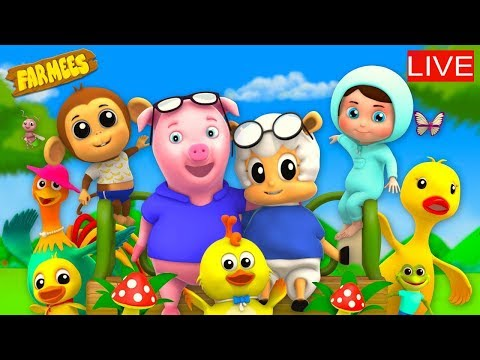 🔴 Kids Rhymes And Baby Songs | Cartoon Videos For Children