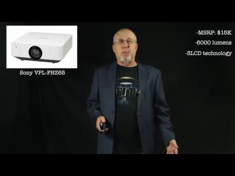 Sony VPL-FHZ65 Projector Summary presented by Projector Reviews TV