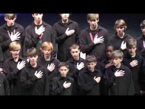 National Anthem - Birmingham Boys Choir