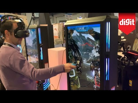 Heres A VR Gaming Kiosk from CES 2020