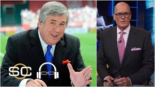 Scott Van Pelt pays tribute to Bob Ley who retired from ESPN after 40 years   SC with SVP
