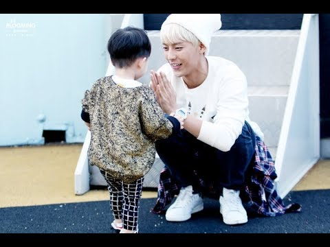 K-POP IDOLS BEING SOFT WITH KIDS