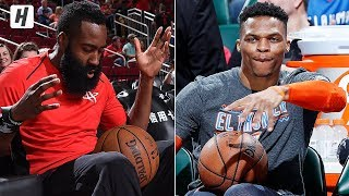 Russell Westbrook & James Harden BEST Pregame Dances!
