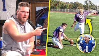 Pat McAfee Talks How He Started Playing Football