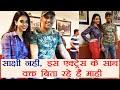 India vs Australia: MS Dhoni meets up with actress Soundar..
