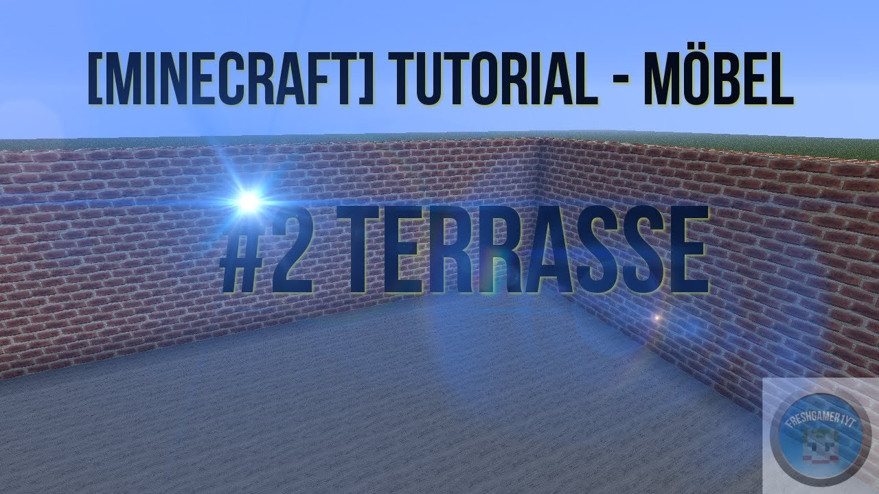 minecraft tutorial m bel 2 terrasse youtube. Black Bedroom Furniture Sets. Home Design Ideas
