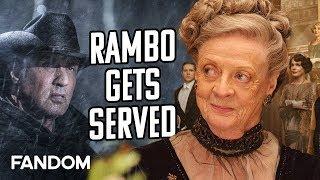 Downton Abbey Outclasses Rambo, Brad Pitt   Charting with Dan!