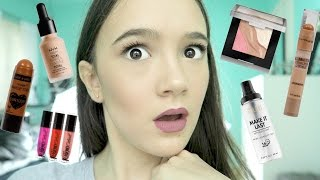 Full Face First Impressions Using NEW Drugstore Makeup | Fiona Frills