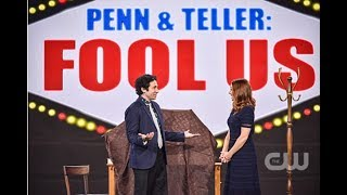 Penn and Teller Fool Us // Danny Cole Impossible Balance - FOOLER